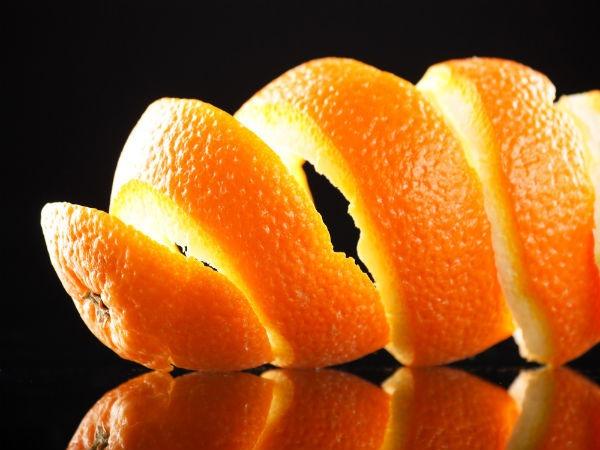 orange peel for weed
