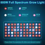 Philzon 600W LED Details