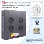 Viparspectra V1200 LED Certificates